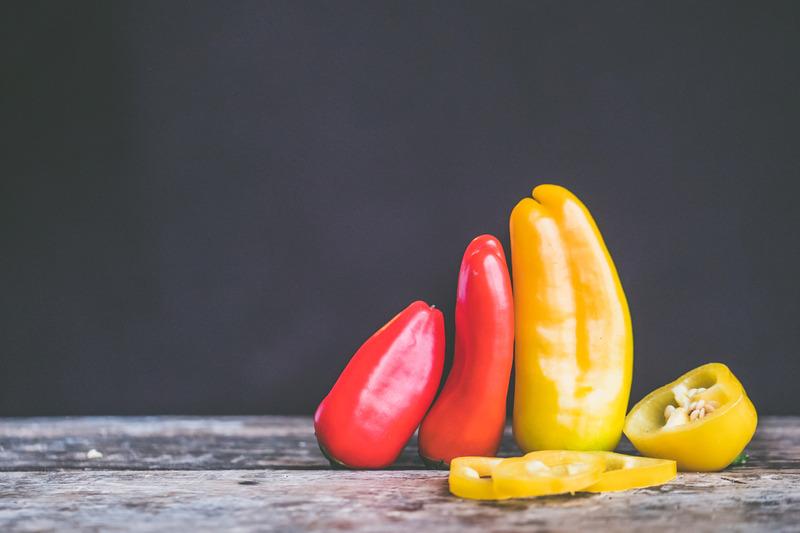 Paprika - Zelenina s nízkym obsahom sacharidov